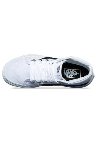 VANS Sk8 Hi Reissue (Oversized Lace) True White 32373