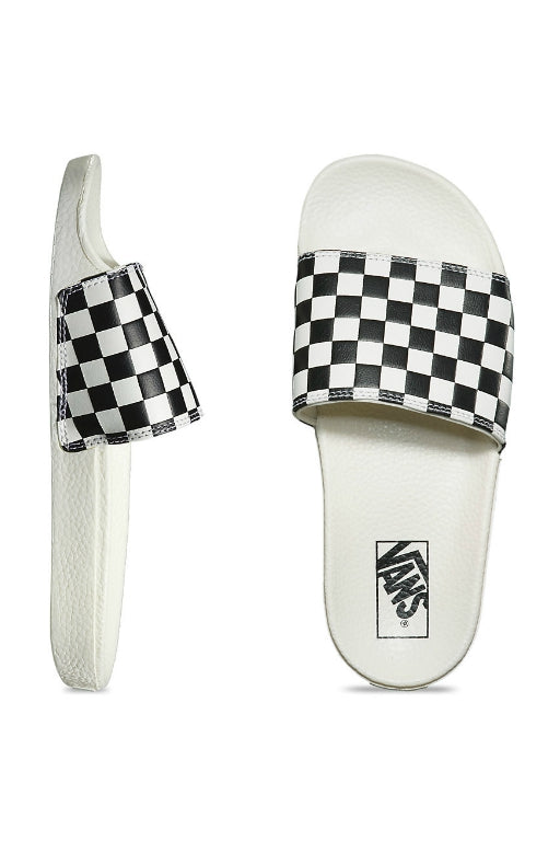 VANS Checkerboard Slide-On White/Black 32369
