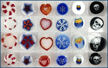Murrine and Millefiori Glass Fusing Tip Sheet