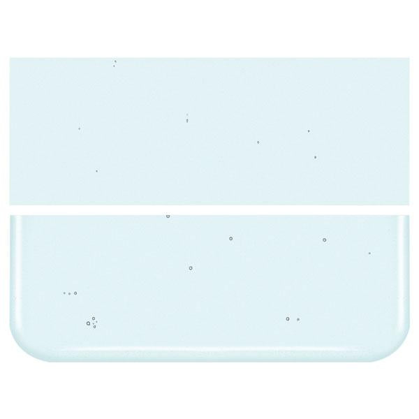 Aqua Blue Pale Transparent COE 90 Bullseye 3mm Sheet Glass 3 Inch Square 104-1808-3INSQ