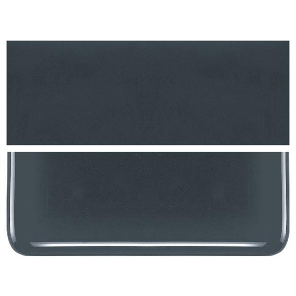 Deep Gray COE 90 Bullseye 3mm Sheet Glass 3 Inch Square 002-336-3INSQ