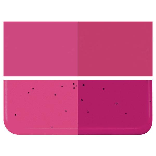 Fuchsia Transparent COE 90 Bullseye 3mm Sheet Glass 3 Inch Square 072-1332-3INSQ