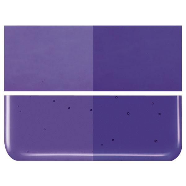 Gold Purple Transparent COE 90 Bullseye 3mm Sheet Glass 3 Inch Square 112-1334-3INSQ