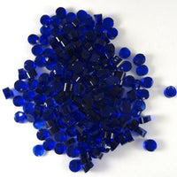 Deep Royal Blue Dots D1114 COE 90 Glacial Art Glass