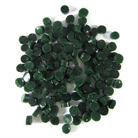Dark Green opal Dots D2206-96 COE 96 Glacial Art Glass