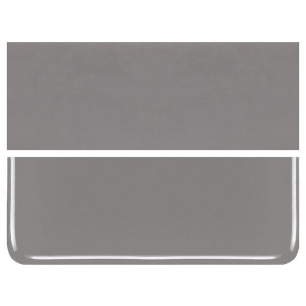 Deco Gray COE 90 Bullseye 3mm Sheet Glass 3 Inch Square 004-136-3INSQ