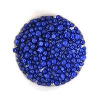 Deep Cobalt Blue Opal Frit Balls FB0147 COE 90 Glacial Art Glass