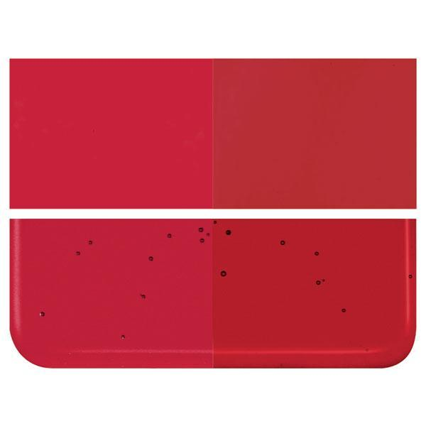 Garnet Red Transparent COE 90 Bullseye 3mm Sheet Glass 3 Inch Square 071-1322-3INSQ