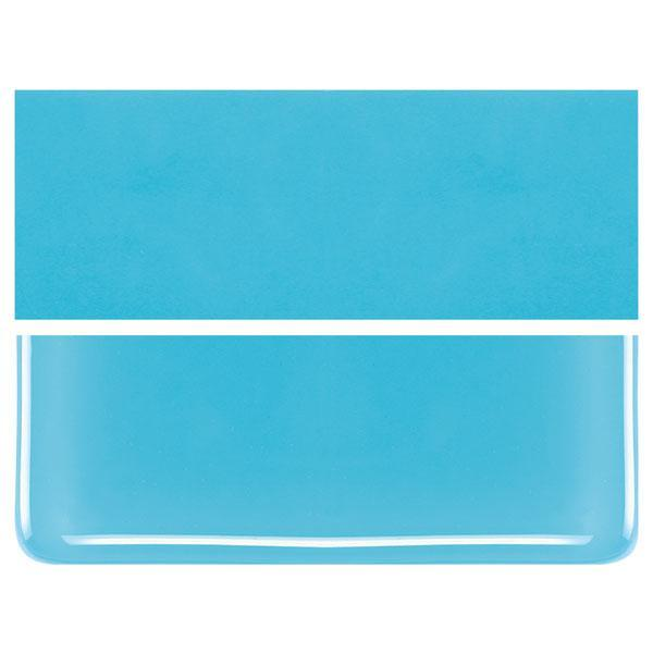 Light Cyan COE 90 Bullseye 3mm Sheet Glass 3 Inch Square 017-216-3INSQ