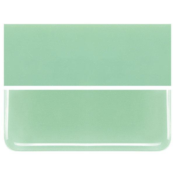 Mint Green COE 90 Bullseye 3mm Sheet Glass 3 Inch Square 012-112-3INSQ