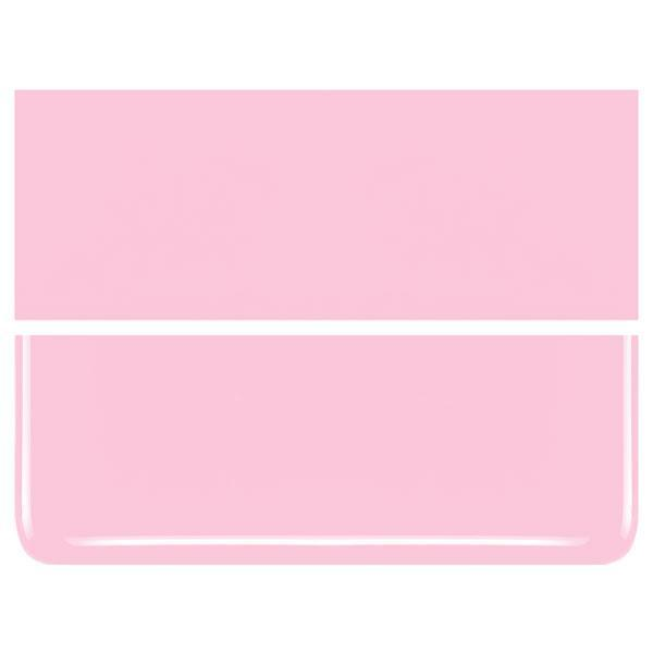 Petal Pink COE 90 Bullseye 3mm Sheet Glass 3 Inch Square 030-421-3INSQ