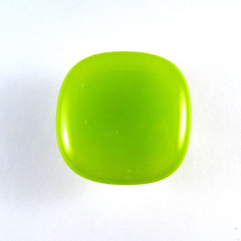 013 Lime Green Glass Cabinet Knob
