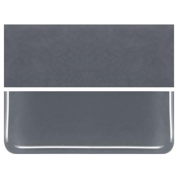 Slate Gray COE 90 Bullseye 3mm Sheet Glass 3 Inch Square 003-236-3INSQ