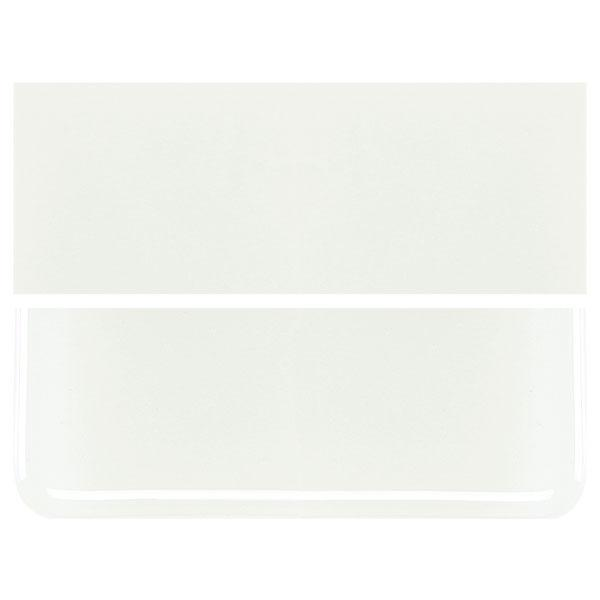 White COE 90 Bullseye 3mm Sheet Glass 3 Inch Square 005-113-3INSQ