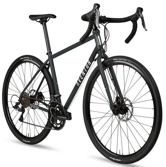 Aventon Kijote Adventure Bike Charcoal Skid Right Side Angle