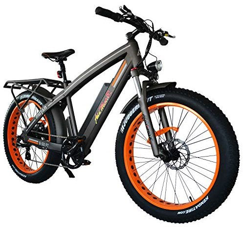 Addmotor Motan M-560 P7 750W 48V Mountain Hunting Fat Tire eBike Right Side Angle