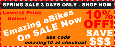 Emazing Selene 73h3h Cruiser Commuter eBike Sale 10% Percent Off Lowest Price Online