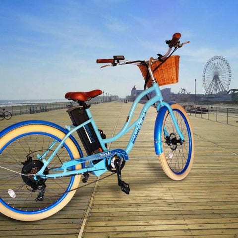 Emojo Breeze 500W Cruiser Step-Through eBike