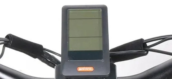Biktrix Juggernaut HD Duo Fat Tire Mid-Drive eBike LCD Display