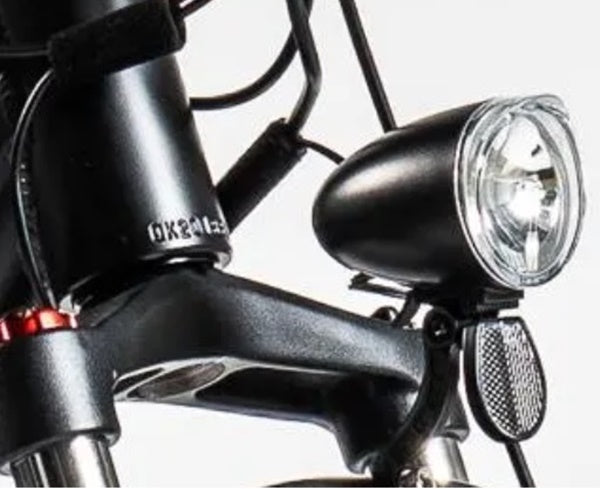 Biktrix Juggernaut HD Duo Fat Tire Mid-Drive eBike Integrated Front Light
