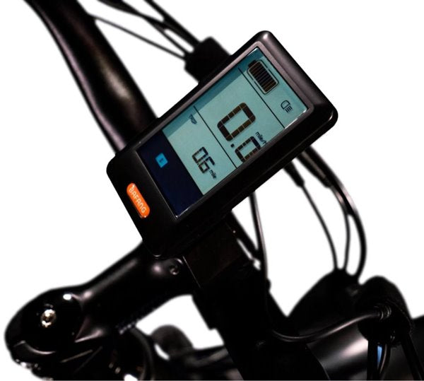 Biktrix Juggernaut HD Fat Tire Mid Drive eBike LCD Display