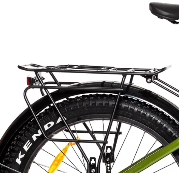 Biktrix Juggernaut HD Fat Tire Mid-Drive eBike Rack and Fenders