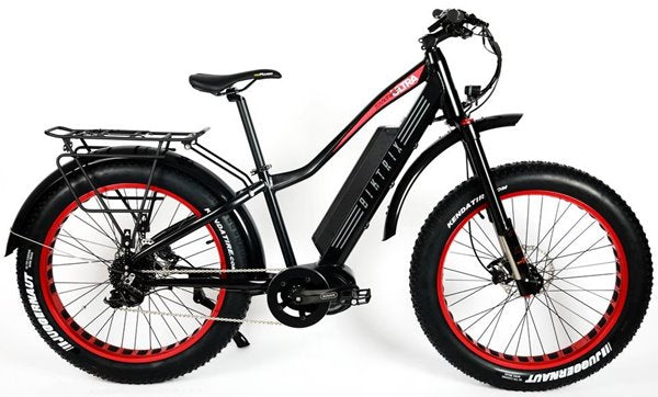 Biktrix Juggernaut Ultra 1000W Pro Fat Tire Mid-Drive eBike Satin Black Right Side