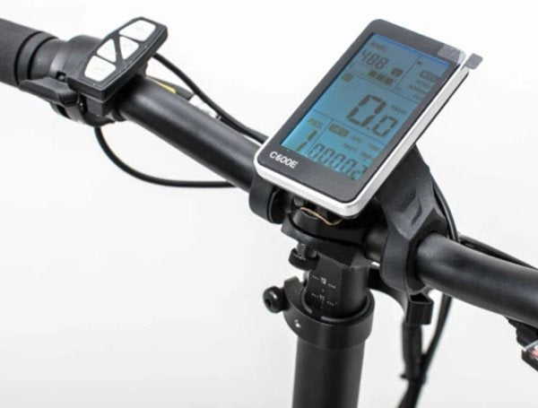 Biktrix Kutty LT 500W 48V Folding Fat Tire eBike LCD Display
