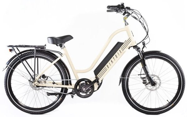 Biktrix Stunner 750W Cruiser Step-Through Mid Drive eBike Cream Right Side