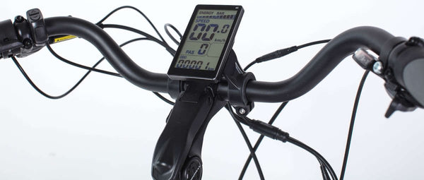 Biktrix Stunner LT 750W Fat Tire Step Through Cruiser eBike Display