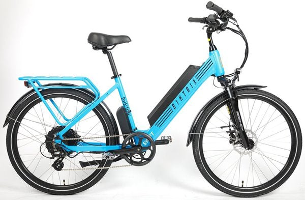 Biktrix Swift 1000W 48V Step-Through Cruiser eBike Sky Blue RightSideht
