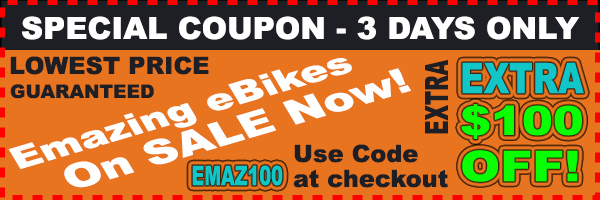 Emazing Selene 73h3h Cruiser Commuter eBike Sale $100 Off Lowest Price Online