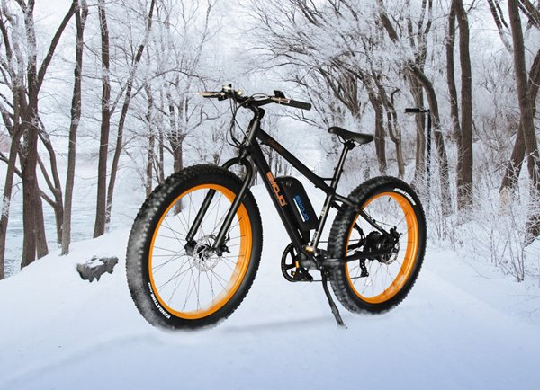 Emojo Wildcat Fat Tire 48V 500W Mountain eBike Lifestyle2