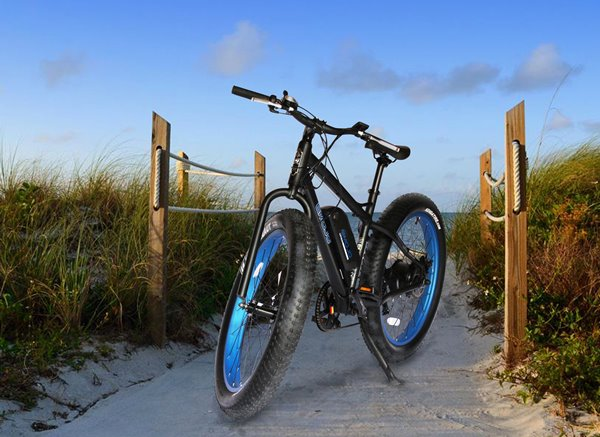 Emojo Wildcat Fat Tire 48V 500W Mountain eBike Lifestyle