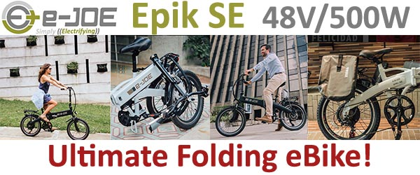 e-Joe Epik SE Ultimate Folding eBike