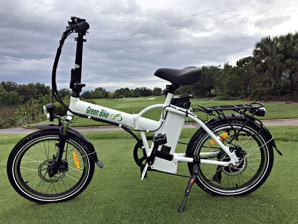 Green Bike USA GB1 Folding Commuter eBike Left Side