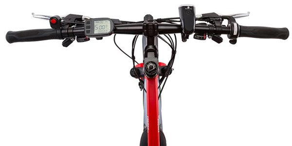 GreenBike - Electric Motion Enduro 350W 48V Full Suspension Mountain eBike LCD Display