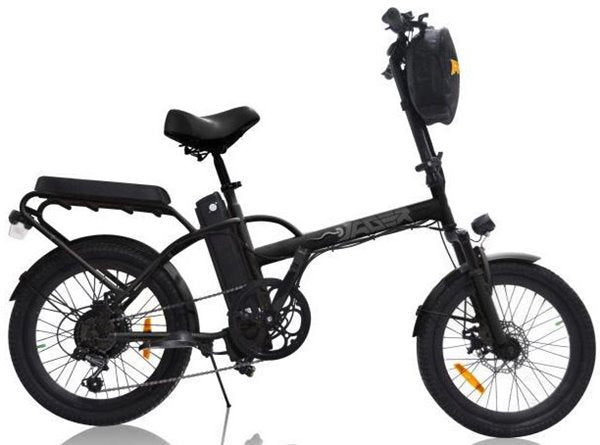 GreenBike - Electric Motion Jäger Dune 350W 36V eBike Matte Black Right Side