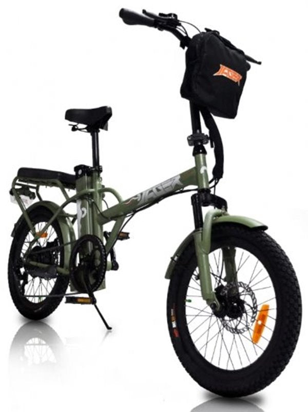 GreenBike - Electric Motion Jäger Dune 350W 36V eBike Army Green Right Side Angle