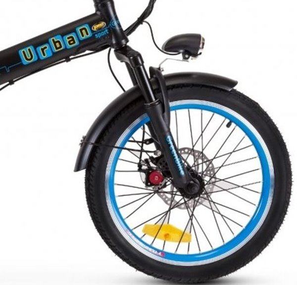 GreenBike - Electric Motion Urban 350W 36V Folding eBike Integrated Front Light