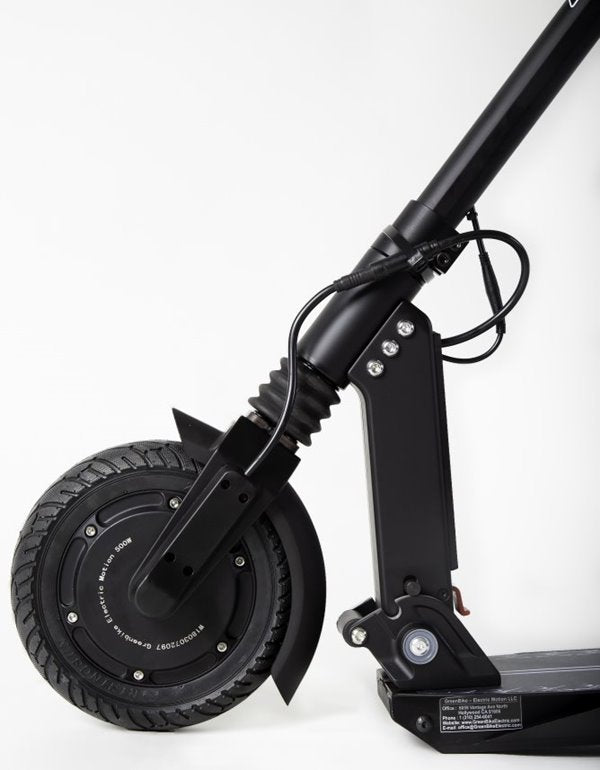 GreenBike - Electric Motion X1 500W 37.4V Folding Electric Scooter Front Suspension