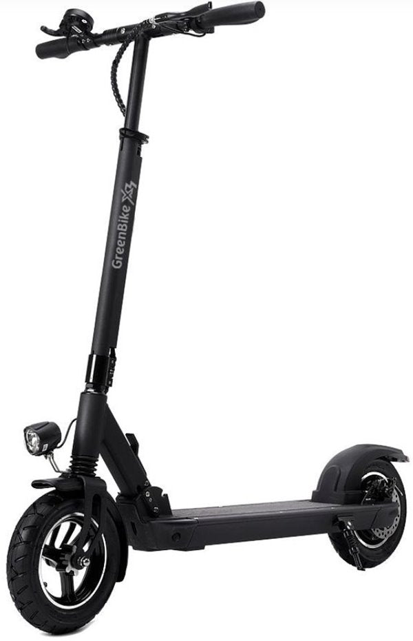 GreenBike - Electric Motion X3 500W 48V Folding Electric Scooter Left Side Angle