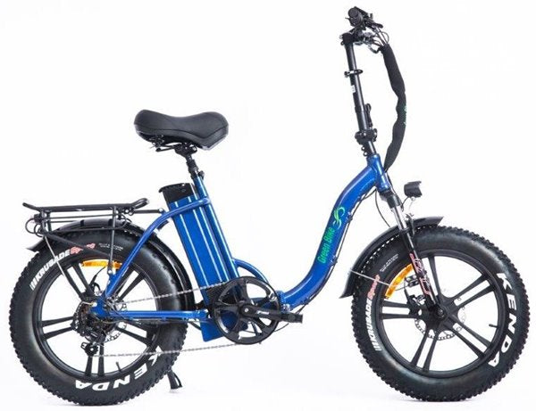 Green Bike USA GB Low Step 750W Fat Tire Folding eBike Right Side