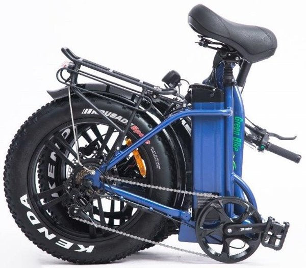 Green Bike USA GB Low Step 750W Fat Tire Folding eBike Folded
