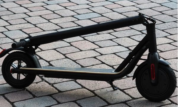 Green Bike USA GB Quick 250W 36V Electric Scooter Folded