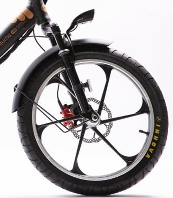 GreenBike - Electric Motion City Premium 2021 Edition 350W 48V Folding eBike Mag Wheels