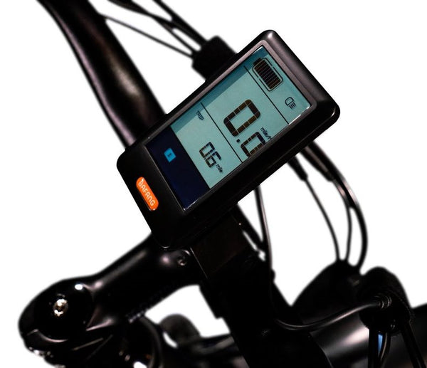 Biktrix Juggernaut Classic HD Fat Tire Mid Drive eBike Display
