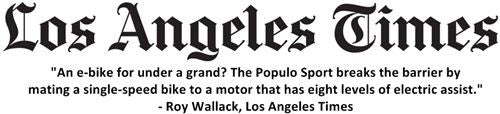 Los Angeles Times Review Populo Sport eBike