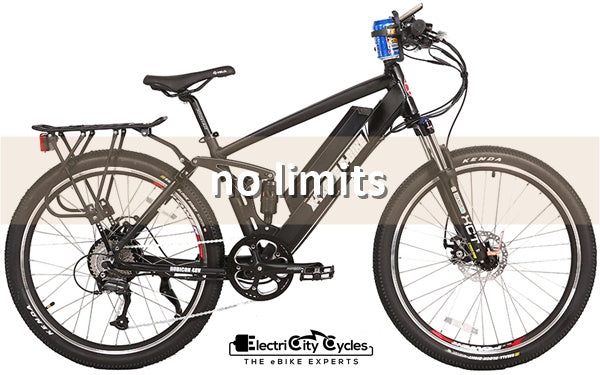 X-Treme Rubicon 500W 48V Full Suspension Mountain eBike No Limits