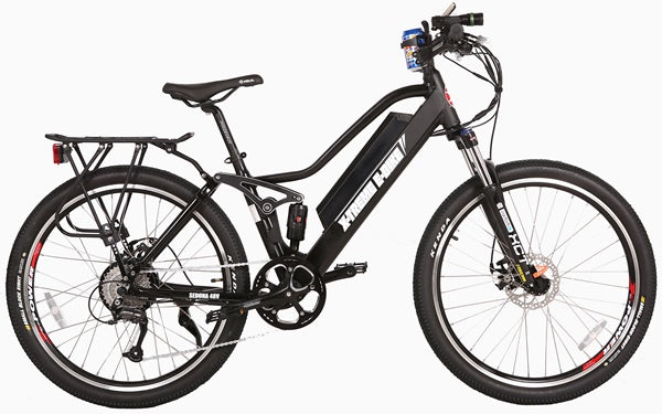 X-Treme Sedona 500W 48V Full Suspension Mountain Step-Through eBike Black Right Side